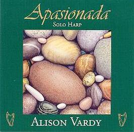 Alison's CD Apasionada with painting by Graham Herbert