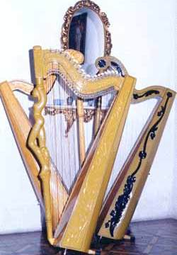 Picture of 3 Paraguayan harps